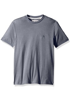 Original Penguin Men's Short Sleeve Jacquard Feeder Tee