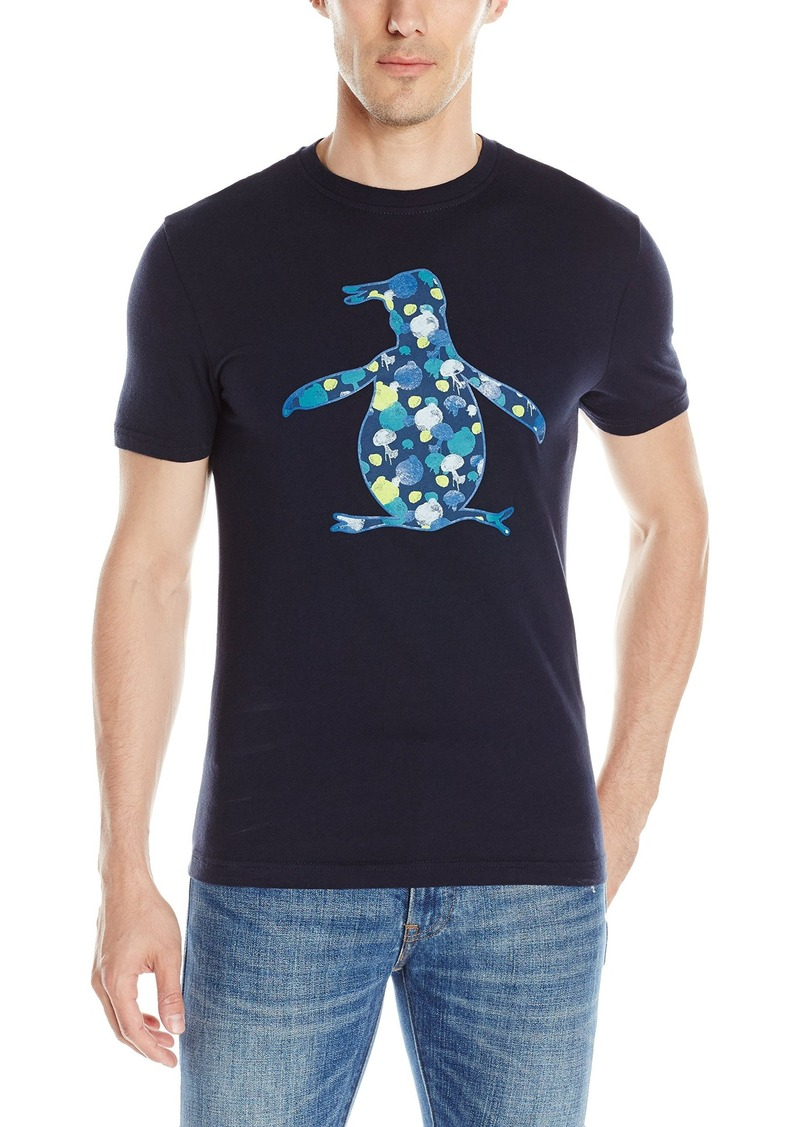 Original Penguin Men's Short Sleeve Jelly Fish Pete T-Shirt