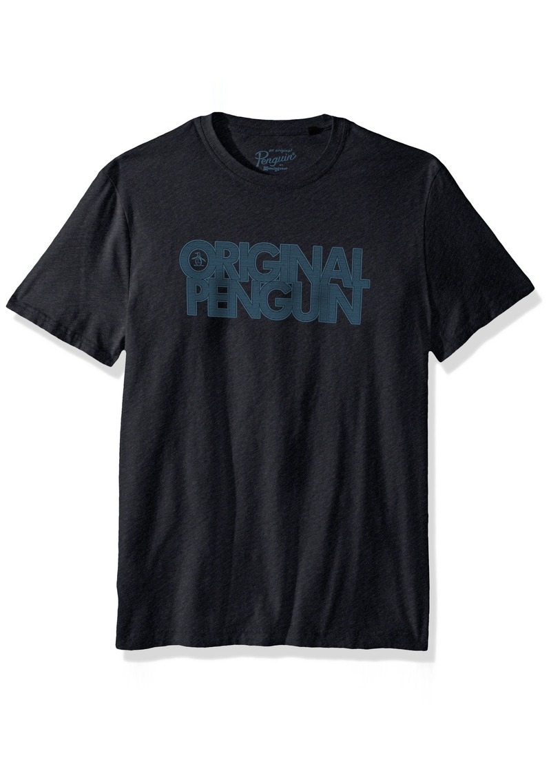Original Penguin Men's Short Sleeve Logo Printed Tee