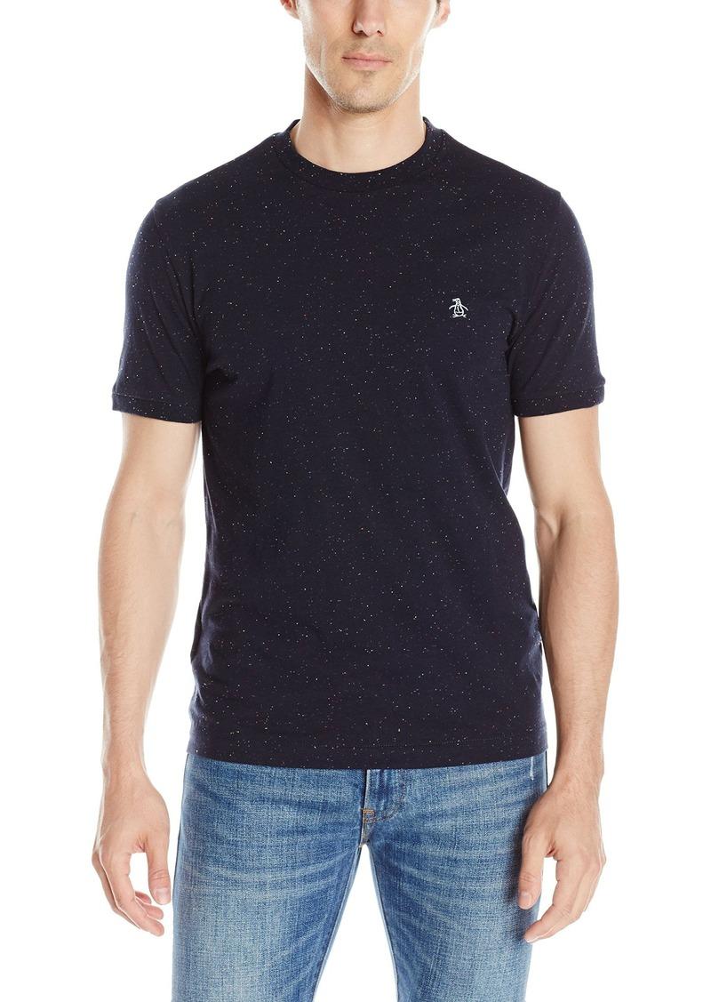 Original Penguin Men's Short Sleeve Neon Donegal Speckle T-Shirt