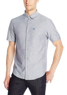 Original Penguin Men's Short Sleeve Oxford Button Down Shirt