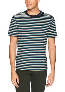 Original Penguin Men's Short Sleeve Polo Dark Sapphire/pop Stripe