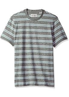 Original Penguin Men's Short Sleeve Retro Striped Tee