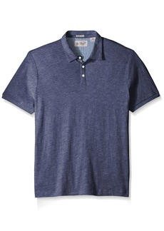 Original Penguin Men's Short Sleeve Slub Jersey Polo Shirt