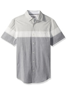 Original Penguin Men's Short Sleeve Stretch Stripe Shirt
