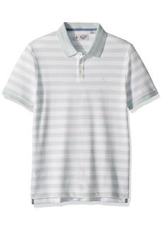 Original Penguin Men's Short Sleeve Stripe Polo