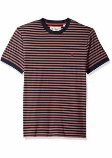 Original Penguin Men's Short Sleeve Stripe Polo  XXL