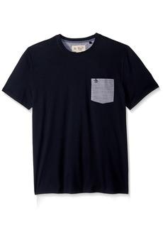 Original Penguin Men's Short Sleeve Stripe Slub Tee
