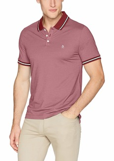 Original Penguin Men's Short Sleeve Tipped Polos