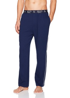 Original Penguin Men's Single Knit Pant with Side Piping  L