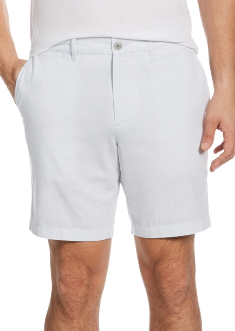 "Original Penguin Men's Slim-Fit 8"" Inseam Oxford Shorts"