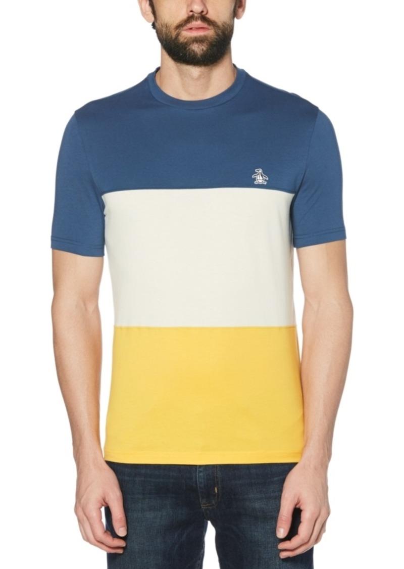 Original Penguin Men's Slim-Fit Colorblock T-Shirt