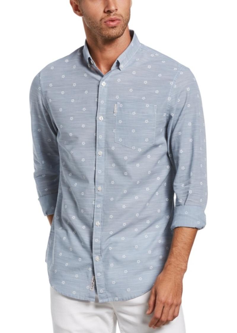 Original Penguin Men's Slim-Fit Ditsy Floral-Print Shirt