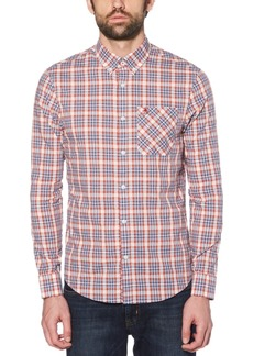 Original Penguin Men's Slim-Fit Dobby Check Shirt