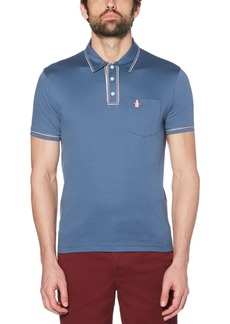 Original Penguin Men's Slim-Fit Earl 3D Polo Shirt