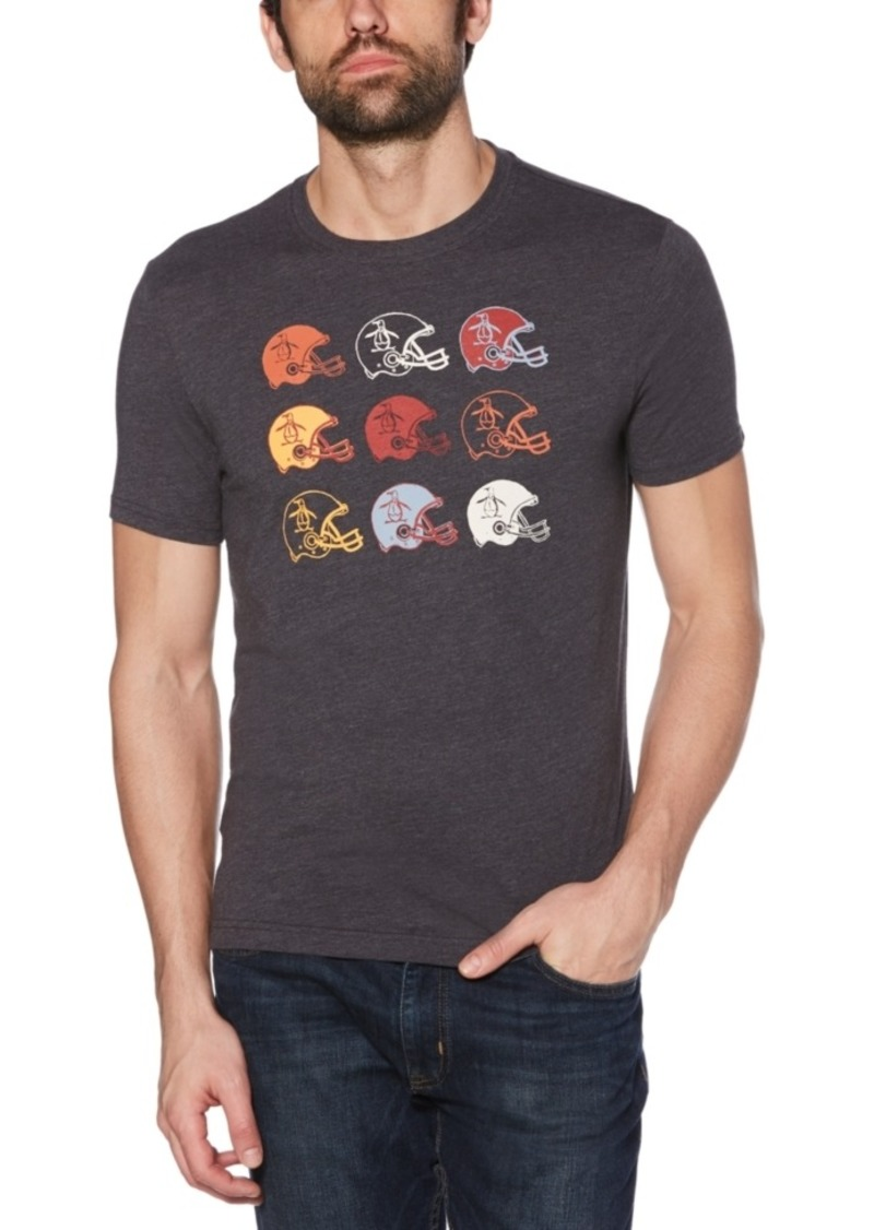 Original Penguin Men's Slim-Fit Helmet Graphic Shirt