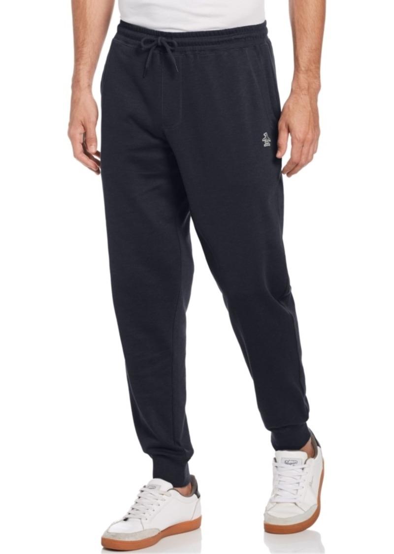 Original Penguin Men's Slim-Fit Solid Fleece Joggers