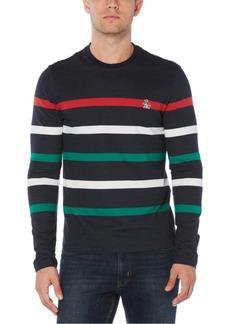 Original Penguin Men's Slim-Fit Striped Sweater