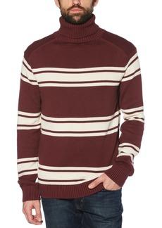 Original Penguin Men's Slim-Fit Striped Turtleneck Sweater