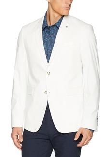 Original Penguin Men's Slim Fit Suit Separate Blazer (Blazer and Pant) White  REG
