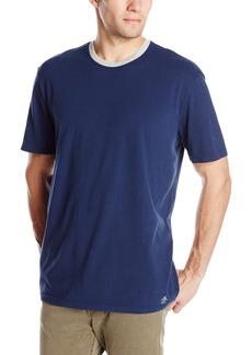Original Penguin Men's Soft Short Sleeve Jersey Sleep Shirt  Small