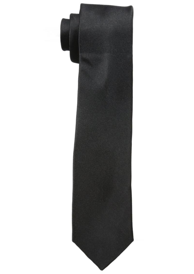 Original Penguin Men's Solid Satin Super Slim Tie