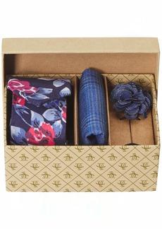 Original Penguin Men's Sommers 3-Piece Floral Tie Pocket Square & Lapel Pin Box