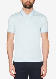 Original Penguin Men's Spaced-Dyed Tipped Polo