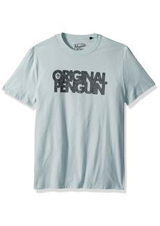 Original Penguin Men's Spliced Op Logo Tee