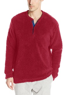 Original Penguin Men's Henly Fleece Lounge Top