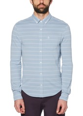 Original Penguin Men's Stripe Jacquard Shirt