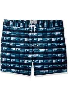 Original Penguin Men's Surf Photo Fixed Stretch Volley Trunk