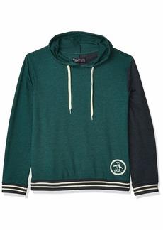 Original Penguin Men's Sweater Long Sleeve French Terry Hoodie Sweatshirt  M