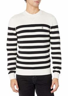 Original Penguin Men's SWT 12Gg Stripe Crew Sweater