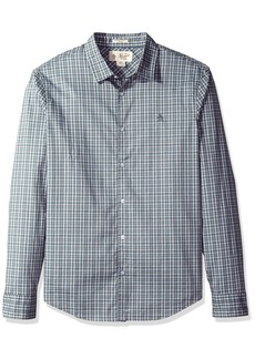 Original Penguin Men's Tartan Check Dress Shirt  Extra Extra Large
