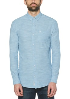 Original Penguin Men's Textured Dobby Shirt