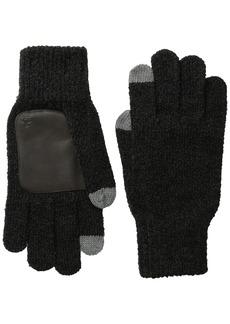 Original Penguin Men's Textured Knit Touch Tek Gloves