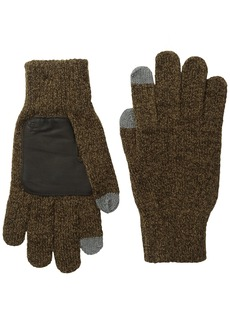 Original Penguin Men's Textured Knit Touch Tek Gloves
