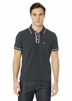 Original Penguin Men's Earl Short Sleeve Polo Shirt  X Large