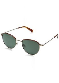 Original Penguin Men's The Ferrell Sun Polarized Round Sunglasses