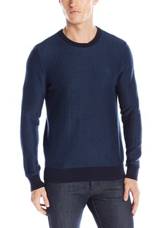 Original Penguin Men's Tonal Pattern Sweater