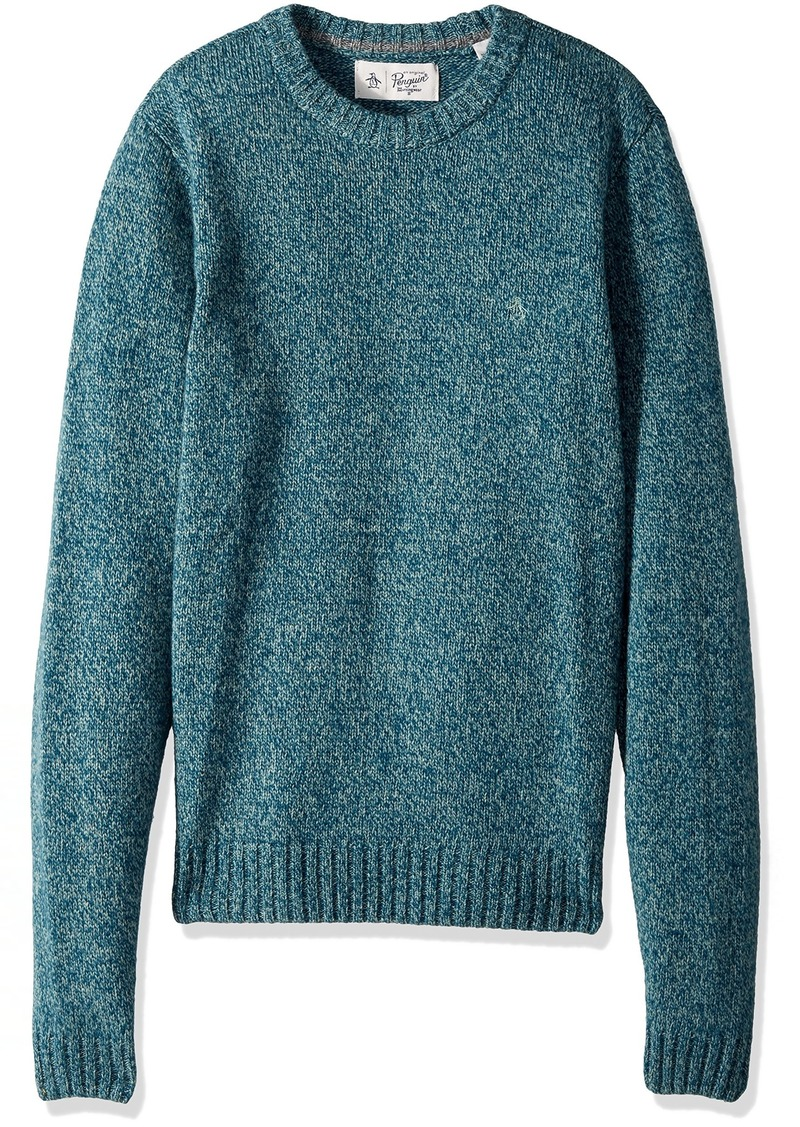 Original Penguin Men's Twisted Yarn Crew Sweater  Extra Extra Large