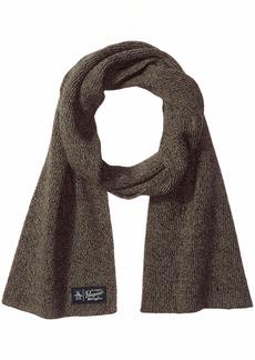 Original Penguin Men's Two Tone Knit Scarf black OSFA