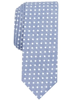 Original Penguin Men's Valerian Dot Skinny Tie