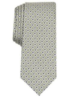 Original Penguin Men's Villarino Neat Skinny Silk Tie