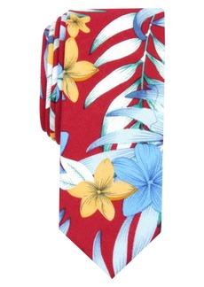 Original Penguin Men's Watson Floral Skinny Tie