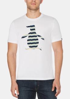 Original Penguin Men's Zig-Zag Pete Logo Graphic T-Shirt