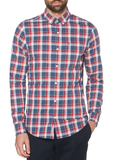 Original Penguin P55 Checked Long-Sleeve Shirt