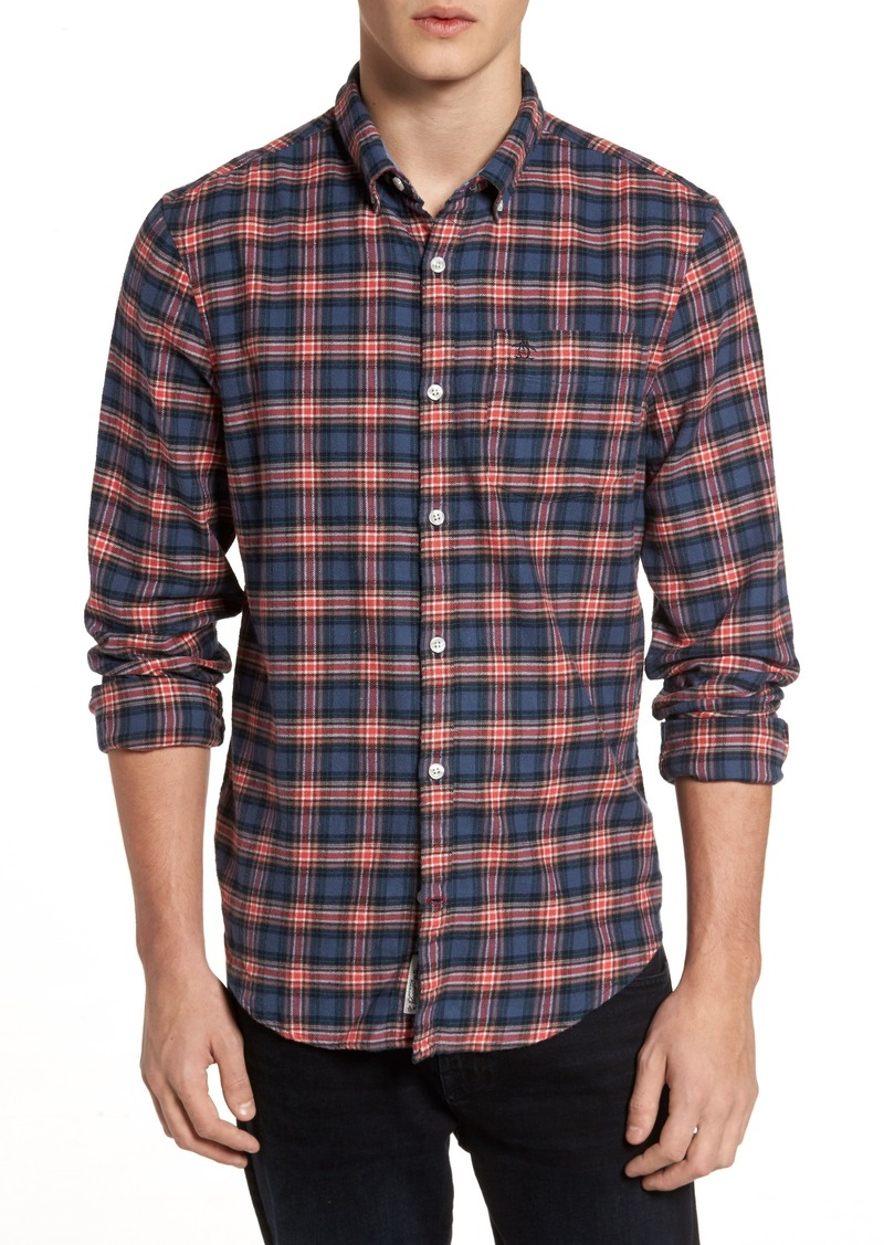 Original Penguin P55 Heritage Flannel Shirt