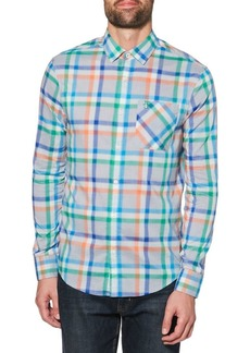 Original Penguin P55 Plaid Stretch Shirt